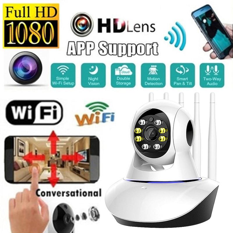 1080p câmera ip sem fio wifi cam indoor vigilância de segurança em casa 2-way áudio cctv câmera de rede visão noturna 2mp remoto