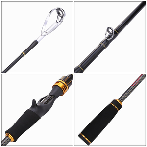 Image 2 - Sougayilang 1.8m 2.1m 2.4m Casting Fishing Rods with 24 Ton Carbon Fiber Latest Serpentine Reel Seat Ultra Light Pesca Pole