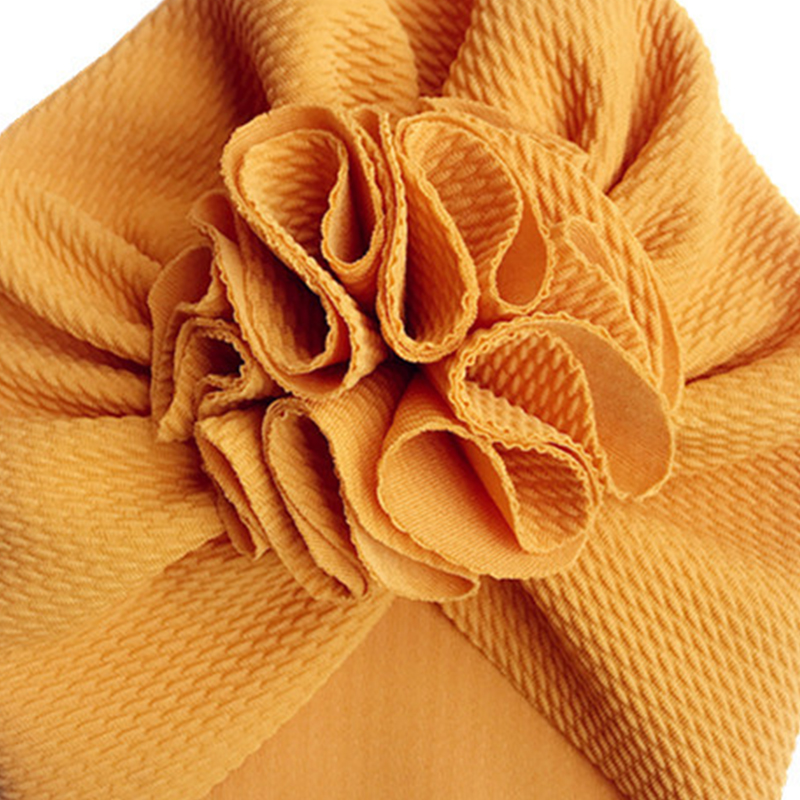Soft Flower Baby Turban