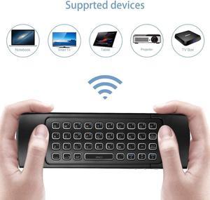 Image 3 - MX3 arkadan aydınlatmalı klavye uzaktan kumanda Air Fly fare 2.4G kablosuz Mini klavye 81 tuşları IR öğrenme Android TV kutusu
