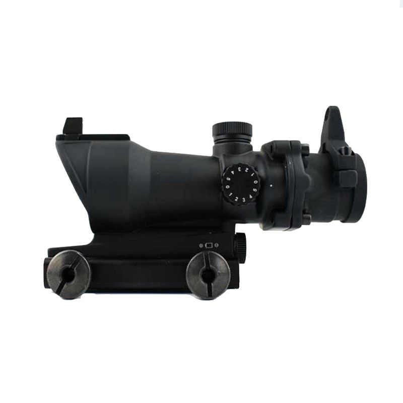 Săn Bắn Chiến Thuật Riflescope Acog Loại 1X32 Đỏ/Chấm Bi Xanh Lá Súng Trường Phạm Vi Tầm Nhìn Với 22 Mm Gắn Airsoft chụp Ảnh Quang Học Súng Trường Phạm Vi