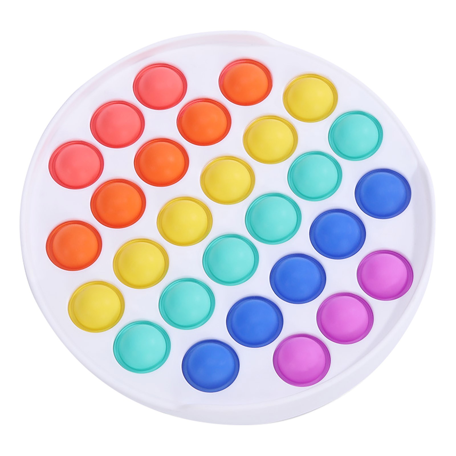 Fidget-Sensory-Toy Game-Stress Bubble Pops Squishy-Pops Special Needs Rainbow-Push Relief img4