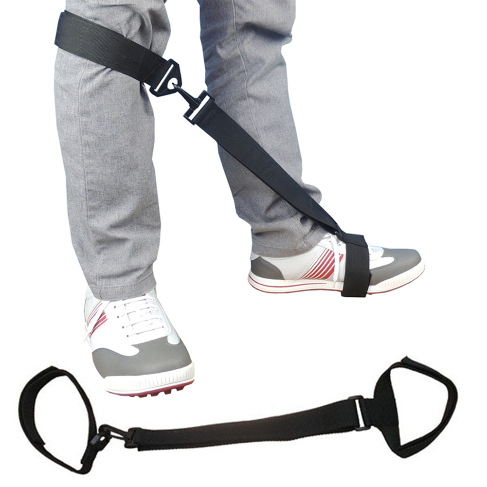 Golf Training Aid Leg Strap Golf Leg Posture Correction Belt Leg Orthosis For Golf Beginners Golf Sport Swing Training Aid