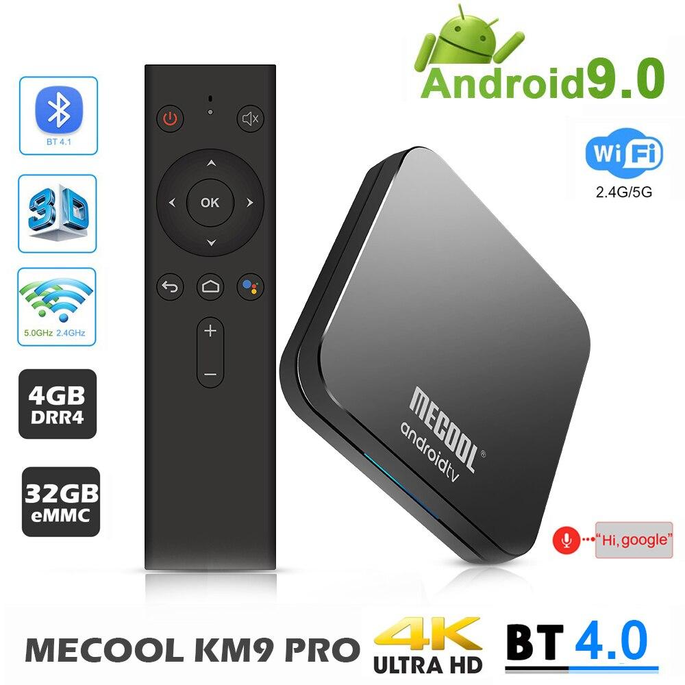MECOOL KM9 PRO Android 9.0 TV Box กล่อง Google ได้รับการรับรอง ATV 4GB DRR4 32GB Android 9.0 TVBox Amlogic S905X2 4K 2.4G 5G Dual Wifi BT4.0-ใน กล่องรับสัญญาณ จาก อุปกรณ์อิเล็กทรอนิกส์ บน AliExpress - 11.11_สิบเอ็ด สิบเอ็ดวันคนโสด 1