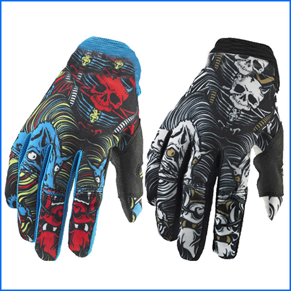 Outdoor Sports Long Finger Bicycle Gloves Riding Cycling Off-Road Motorcycle Racing Gloves Road Bike Mountain Bike Gloves