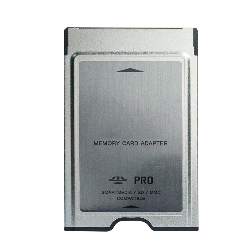 Top Quality Wholesale Multifunction PCMCIA Memory Card Adapter 4 In 1 PC Card Adapter Support For MMC SD SDHC MS PRO SM Card