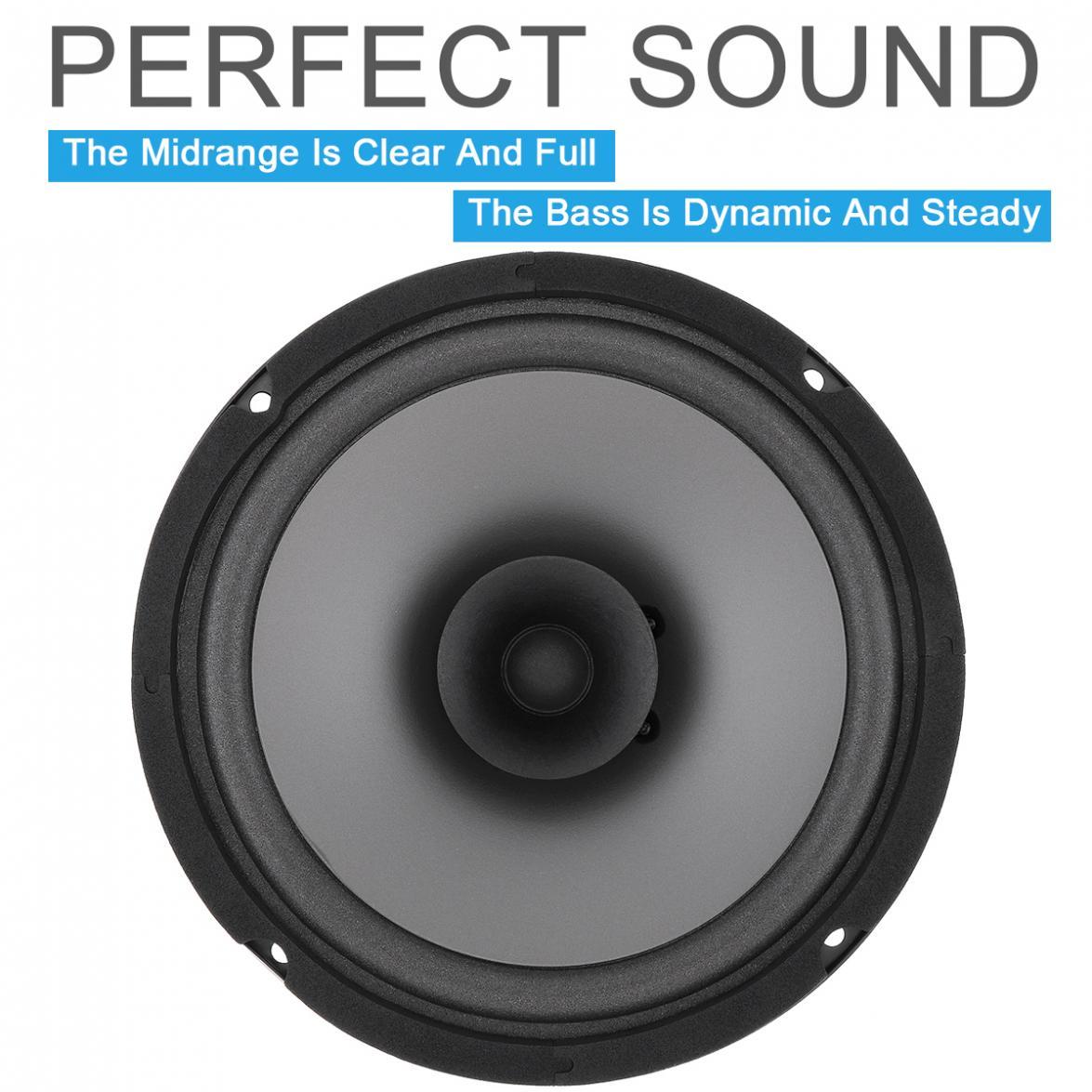 estéreo, música, alcance total, frequência alto-falantes
