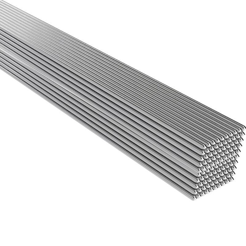 50 Uds. Solución de aluminio de soldadura varillas de núcleo fundente herramienta de metal de repuesto Lámparas de pie LED nórdicas minimalistas lámparas de pie LED NEGRO de sala/lámparas de pie Luminaria de aluminio blanco decorar