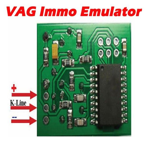 Imobilizador de trabalho do emulador de vag immo para V W/seat/skoda/audi imobilizador do emulador do imobilizador uso para o especialista do ajuste do carro