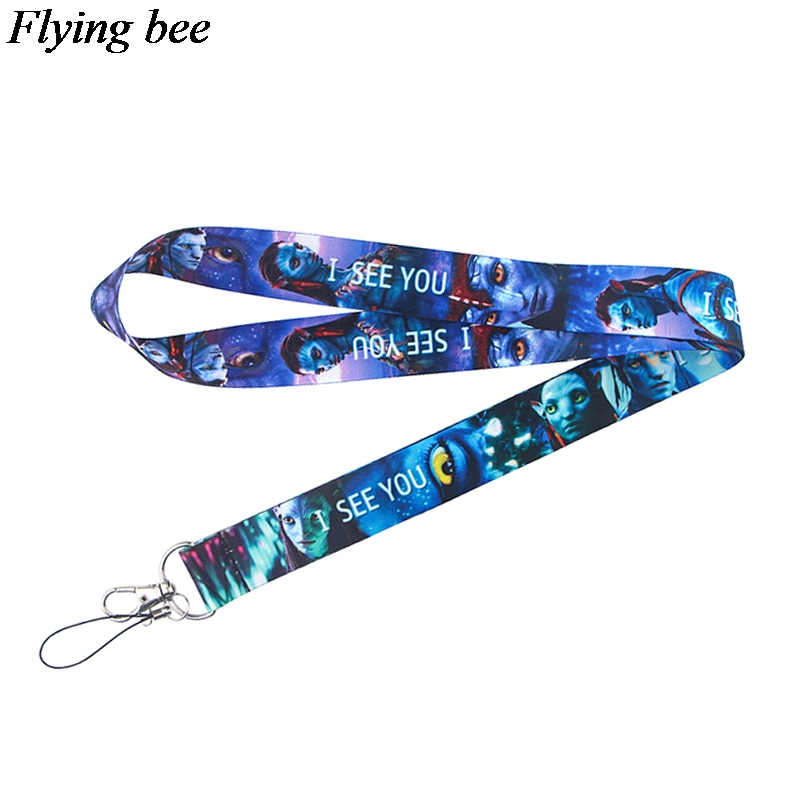 Flyingbee Creative Keychain Cartoon Cute Phone Lanyard Women Fashion Strap Neck Lanyards For ID Card Phone Keys X0731