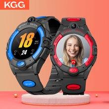 4G ساعة ذكية للأطفال مكالمة فيديو الهاتف ساعة ذكية لتحديد المواقع واي فاي تتبع عداد الخطى دعوة الطلاب مرة أخرى Smartwatch فتاة بوي SOS على مدار الساعة