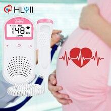 2.5mhz doppler fetal monitor de freqüência cardíaca portátil sonar doppler estetoscópio ultra-som detector de batimentos cardíacos do bebê para grávidas