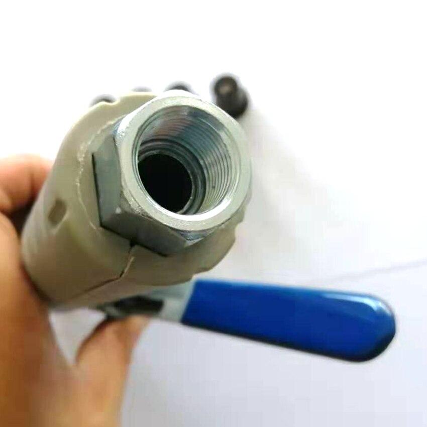 Image 3 - Пескоструйный пистолет, Портативный Пескоструйный пистолет с 7 шт. Пескоструйный сопло Пескоструйный пистолет Набор для мини Пескоструйный горшок-in Аксессуары для электроинструментов from Инструменты