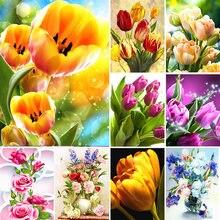 5d diy Алмазная картина ваза для цветов Набор крестиков полная