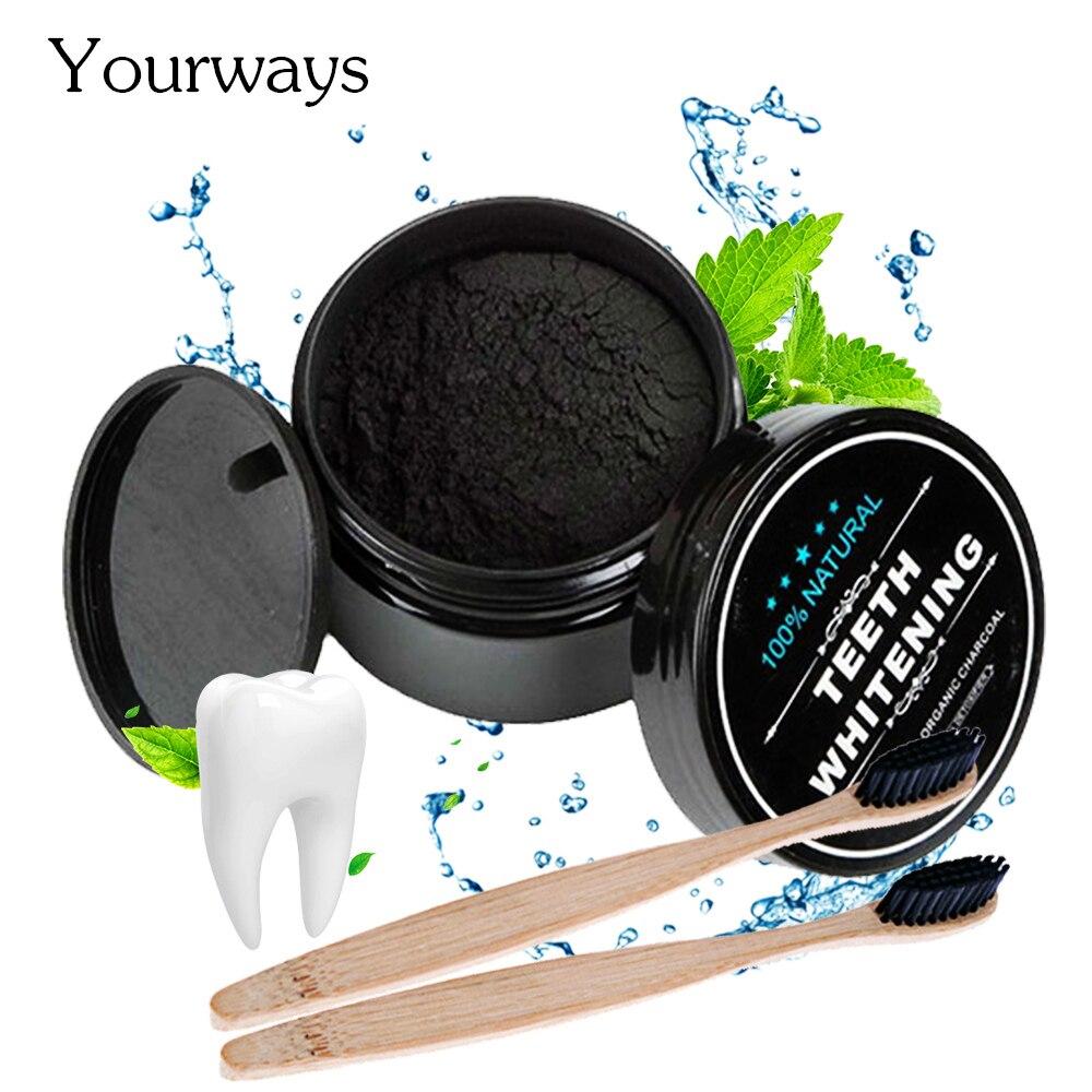 Отбеливание зубов YOURWAYS, уход за полостью рта, угольный порошок, натуральный активированный уголь, порошок для отбеливания зубов, гигиена по...