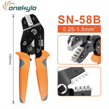 SN-58B=SN-28B+SN-48B IWISS crimper plier Suitable for DuPont 2.54/2.8/3.96/4.8/6.3 Plug Spring Terminal mini Crimping Pliers