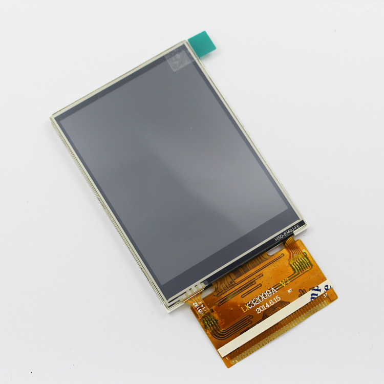 3.2inch Resistive Touch Screen Resolution 240X320 HD Color Display Widely Used In Communication Equipment Display Etc