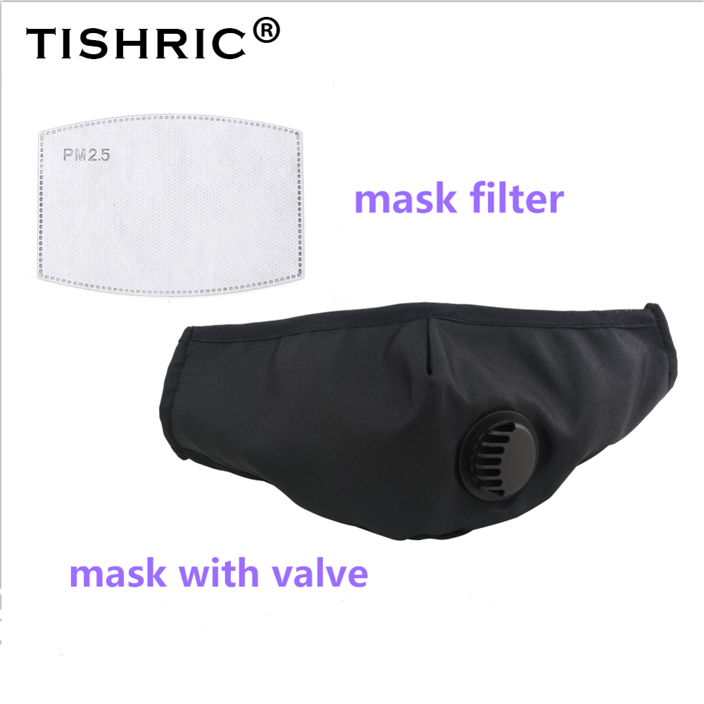 TISHRIC Respirator Gas Mask Filters Activated Carbon Mask Filter Replacements Disposable Dust Mask Filter Paper PM2.5 Mask Pads