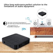 Bluetooth 5.0 suporta tanto rx e tx funções bluetooth transmissor embutido 200mah bateria e usb interface recarregável