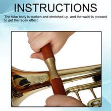 Музыкальный инструмент деревянный Инструменты для ремонта саксофона саксофон труба тромбон ремонт двухручная деревянная ручка