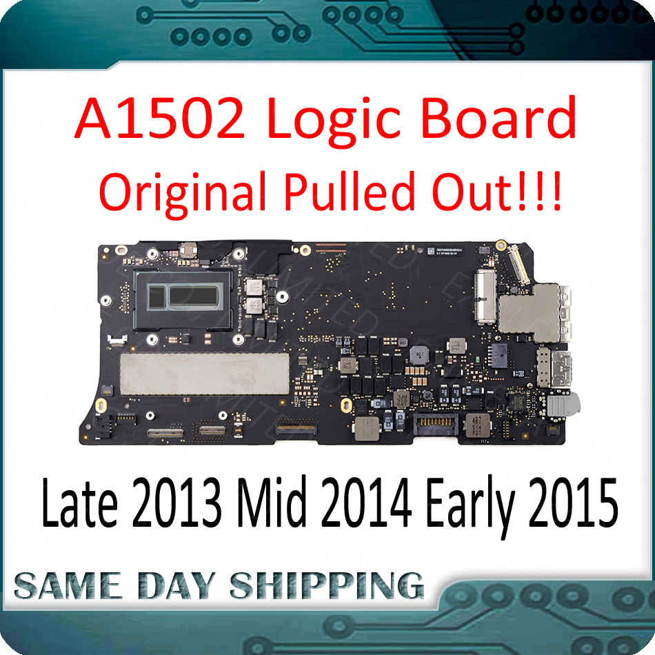 """Perfect Good A1502 Logic Board for MacBook Pro Retina 13"""" A1502 Motherboard Mainboard 820-4924-A 820-3476-A 2013 2014 2015 Year 1"""