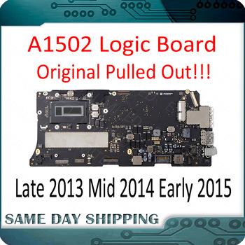 "Perfect Tested A1502 Motherboard for MacBook Pro Retina 13"" A1502 Logic Board 2013 2014 2015 Year 820-4924-A 820-3476-A 1"