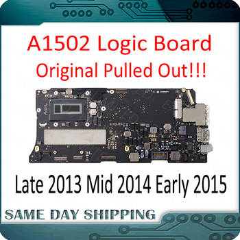 Perfect Tested A1502 Motherboard for MacBook Pro Retina 13 A1502 Logic Board 2013 2014 2015 Year 820-4924-A 820-3476-A new topcase with uk keyboard for macbook pro retina 13 3 a1502 2013 2014 years