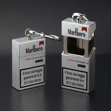 Portable Ashtray Bottle Keychain Pocket Storage-Package Cigarette Metal Auto-Aschenbecher