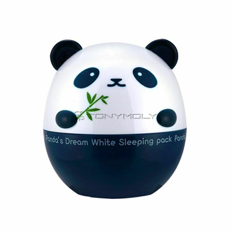 TONYMOLY, paquete de sueño de Panda blanco, 50g, máscara blanqueadora, hidratante, piel brillante, máscara facial hidratante antiarrugas Instrumento para el lavado de cara con fideos limpios impulsados por Motor directo de fábrica