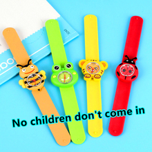Tiger Toy Children Watches for Girls Students Clock Cartoon Bee Pattern