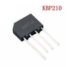 5PCS KBP210 1000V 2A KBP208 KBP206 integrated circuit