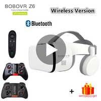 Bobo Bobovr Z6 Casque Casco 3D VR Occhiali di Realtà Virtuale Auricolare Per iPhone Smartphone Android Smart Phone Occhiali Lunette Ios