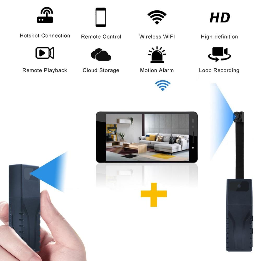 Full HD 1080P Mini Wifi IP Camera Dual Lens Wireless Remote  Control Camera DVR