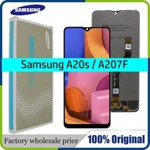 """Original 6.5 """"LCD Für Samsung Galaxy A20s A207 A2070 SM A207F LCD Display Bildschirm ersatz Digitizer Montage + service paket"""