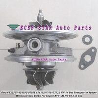 Cartucho turbo chra gt2252v 454192 454192-5006 s 454192-0005 454192-0002 074145703gx v para vw t4 transporter syncro avg axl 2.5l