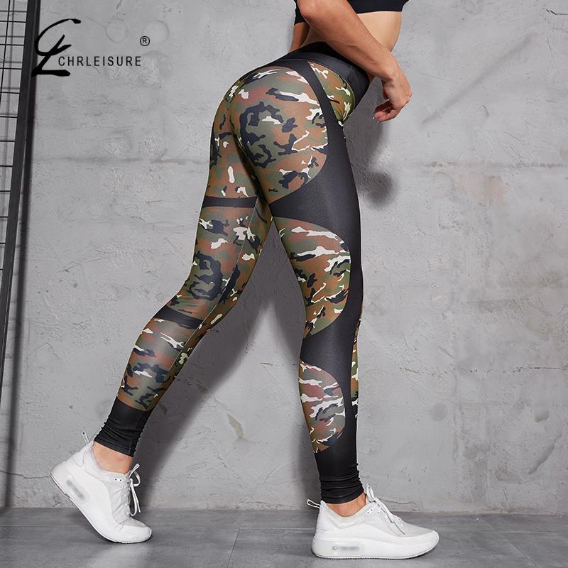 Sexy High Waist Fitness Legging Women Heartbeat Print Joggings Fashion Push Up Elasticity Leggings Women