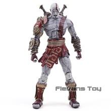 NECA figuras de God of War Kratos, modelo de colección de figuras de acción de PVC, fantasma de Esparta