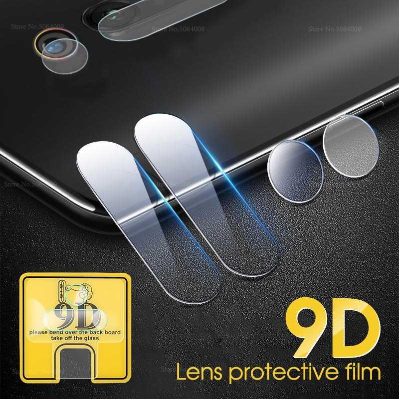 9D حامي زجاج الكاميرا ل شياو mi mi 9T برو 9 8 لايت SE mi 5X A1 6 Pocophone F1 كاميرا عدسة فيلم ل شياو mi mi 9T لينة الزجاج