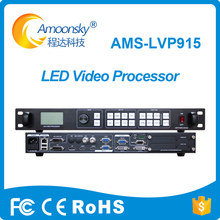 original factory ams-lvp915 led video wall controller compare to vdwall led video processor for full color curved led display tanie tanio Amoonsky Signal Processing 1DP 1DVI 2HDMI 2VGA 2AV 2DVI 1VGA 2304*1152@60Hz 3840*640@60Hz Support Audio Output 30000H 100~240V AC 50~60Hz