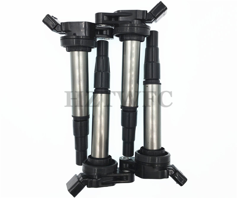 4 PCS Ignition Coil 90919-02258 90919-02252 90919-C2003 For Toyota Auris Avensis Rav 4 Verso Yaris 2009 1.6 1.8 2.0 image