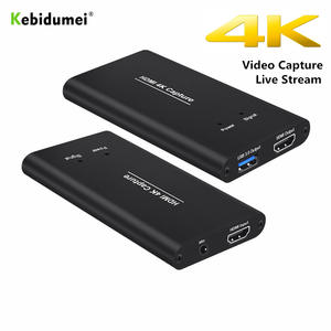 Kebidumei Video-Capture Card-Dongle Game-Streaming USB3.0 HDMI 1080P To 60hz 4K