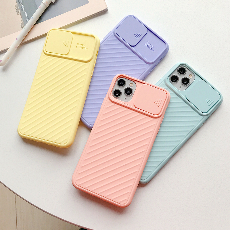 Camera Lens Protection Phone Cases For iPhone 11 Pro MAX Soft Candy TPU Cover Case For iPhone 8 7 6 6S Plus X XS Max XR 11pro 5