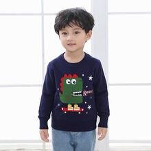 Jo & mi 2020 Осенняя детская одежда Детский свитер для мальчика