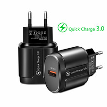 EU/US Plug USB Charger Quick Charge 3.0 For Phone Adapter for iphone 11 Samsung