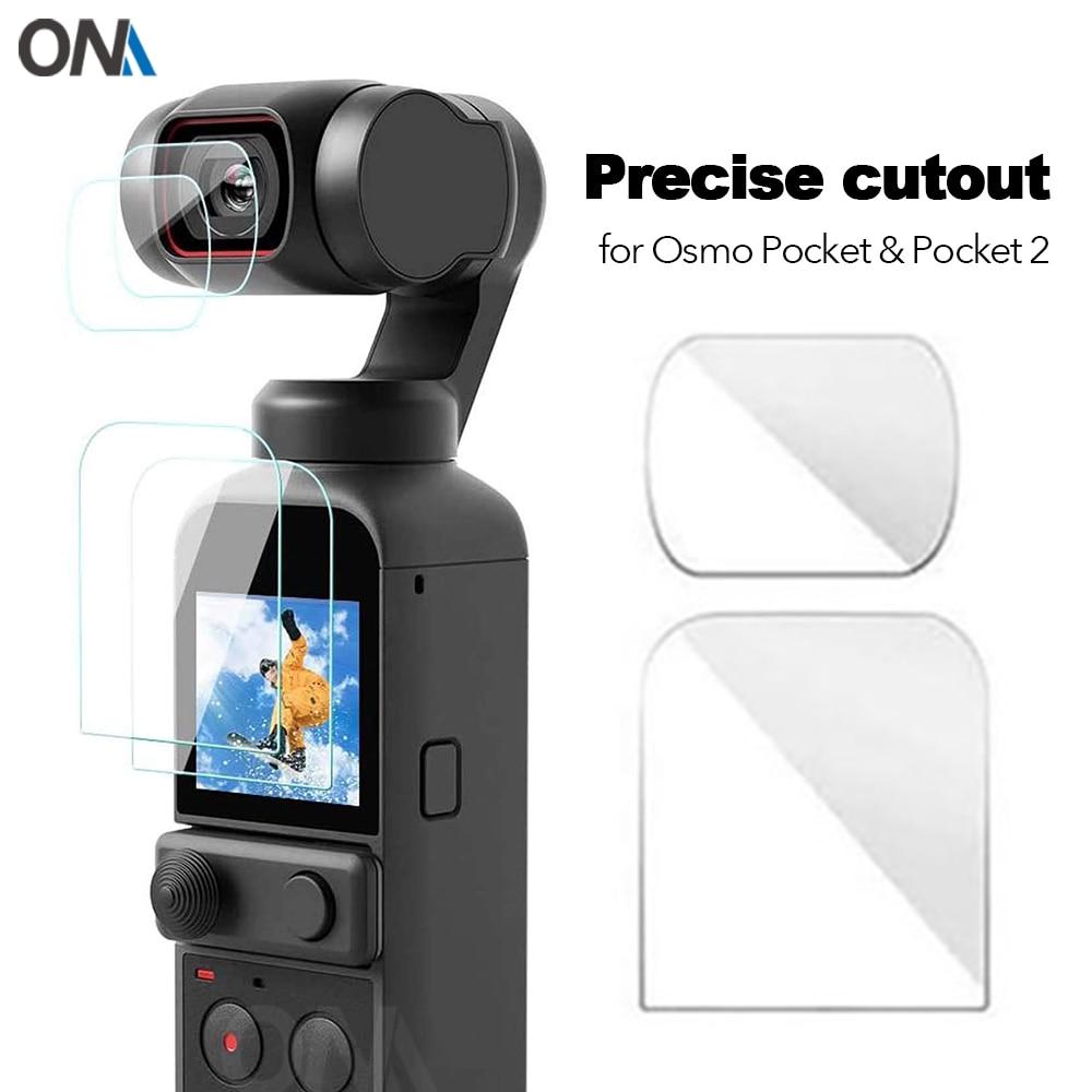 Dji osmo bolso 1 & 2 protetor de tela acessórios lente película protetora cardan capa para dji osmo bolso 2 câmera ação