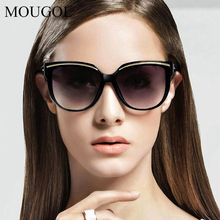 MOUGOL Vintage Cat Eye Sunglasses Women Fashion Brand Designer Sun Glasses Female Shape Womens Eyewear UV400
