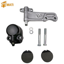 Front Brake Caliper Holder Assembly with Pad for Honda CB350F CB350G CB 360 360G 360T CB400F CB450 CB500 CB500T CB 550 550F 550K