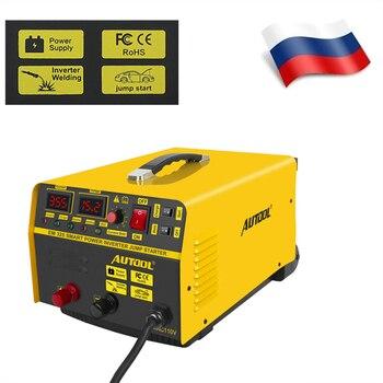 AUTOOL EM325 12V Car Battery Charging Engine Jump Start ARC Welding Triple- Function Machine Installation Low Temperature Start