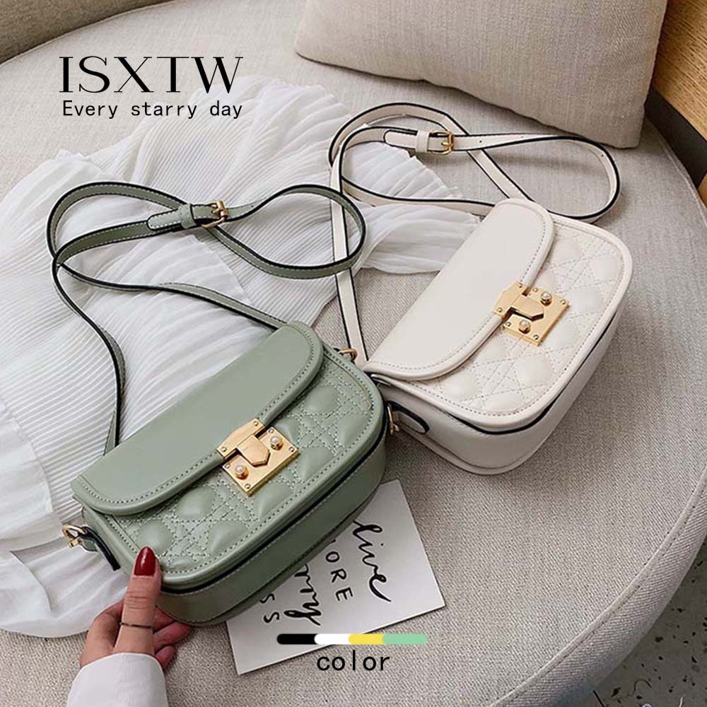 ISXTW 2019 New Woman Casual Bag Fashion Simple Bag Multi function Shoulder Slung Solid Color Handbag Four Color Optional B14 in Shoulder Bags from Luggage Bags