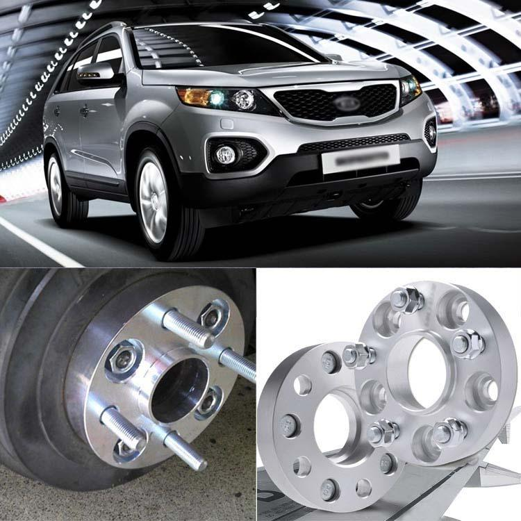 High Quality Auto Wheel Spacer 4pcs <font><b>5X139.7</b></font> 95.3CB 30mm Thick Hubcenteric Wheel Spacer Adapters For Kia Sorento 2002-2009 image